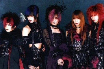 Dir en Grey in their Visual Kei days