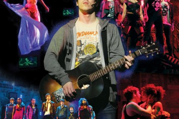 Montage of Green Day's American Idiot DanCap stage production