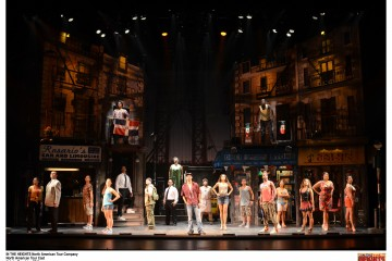 IN THE HEIGHTS North American Tour; North American Tour Cast (c) John Daughtry, 2011