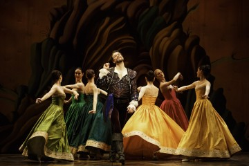 Olivier LaQuerre as Chevalier Ubalde and Artists of Atelier Ballet