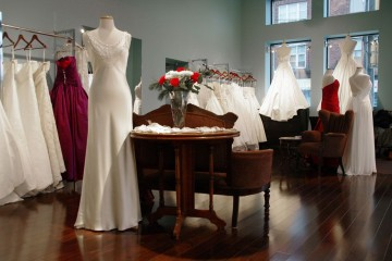 Lea Ann Belter Wedding Gowns Interior