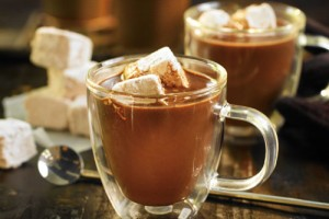 Rich Hot Chocolate with Marshmallows