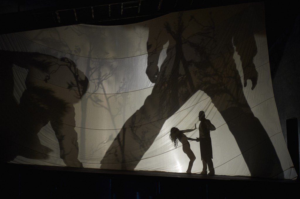 The visually stimulating Dance of the Seven Veils scene from the Canadian Opera Company's production of Salome