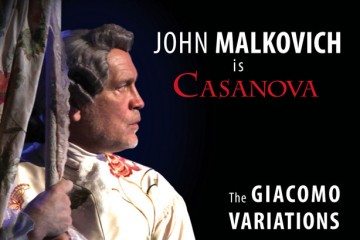 John Malkovitch in The Giacomo Variations Elgin Theatre
