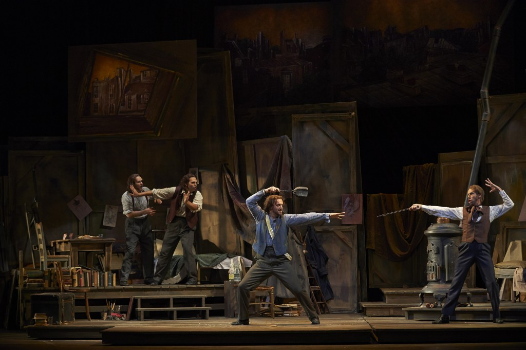 These Bohemian bachelors are handsome and available for 12 performances at the COC.