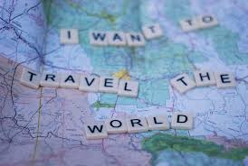 I want to travel the world, and I will!