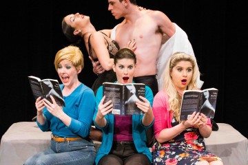 Cast of 50 Shades! The Musical, coming to Toronto April 1 - 13.
