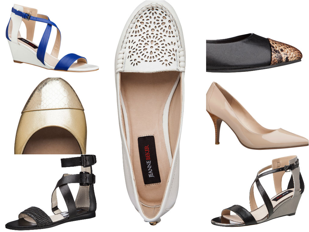 A curated collection of 9 styles of shoes will be available exclusively at The Shoe Company at the end of March. The retail price ranges between $70.00 & $90.00.