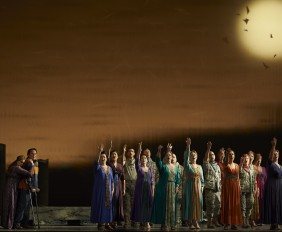 The Chorus of Peter Sellars' Hercules at Canadian Opera Company
