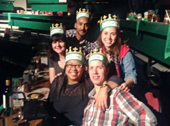 Even a group of adults (and there were many) can have a roaring good time at Medieval Times.