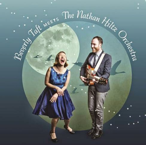 Get in the groove with seductive swing originals from Beverly Taft & The Natham Hilts Orchestra