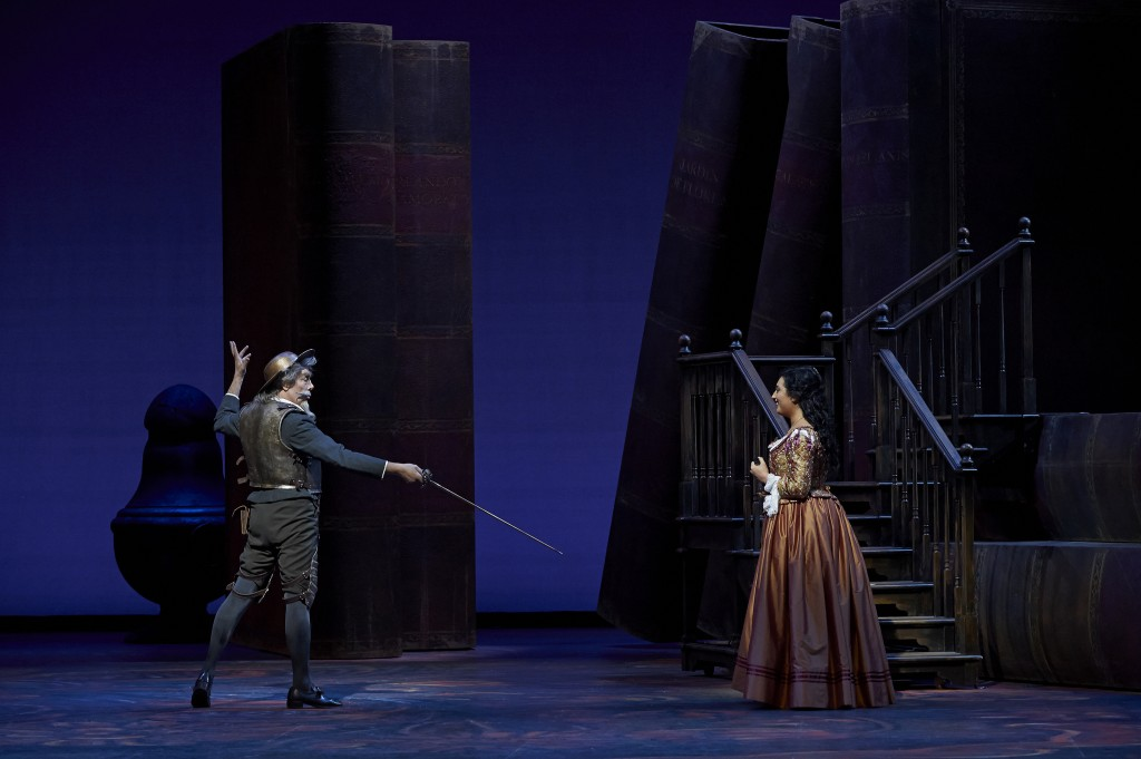 Furlanetto sings and acts Don Quichotte superbly and Anita Rachvelishvili is a beautiful Dulcinée.
