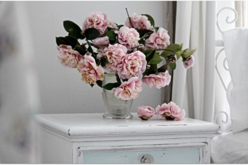 Flowers can be placed just about anywhere you can think of in the home. Get creative and think outside of the box.