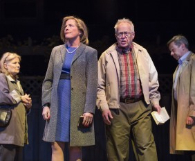Nancy Beatty, Julie Stewart, Eric Peterson and Michael Healey in Dead Metaphor. Photo Credit: Cylla von Tiedemann