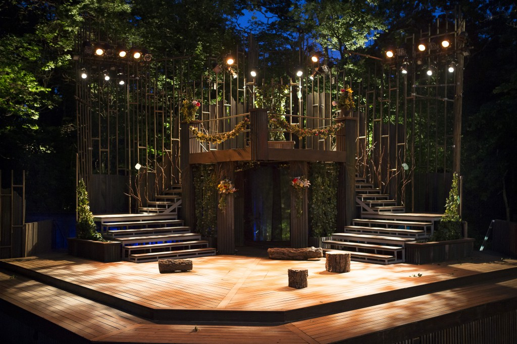 The outdoor theatre for Shakespeare in High Park is a wonderful place to pack a picnic and relax.