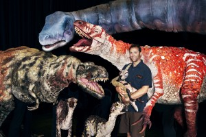 ERTH, Dinosaurs  Zoo Live