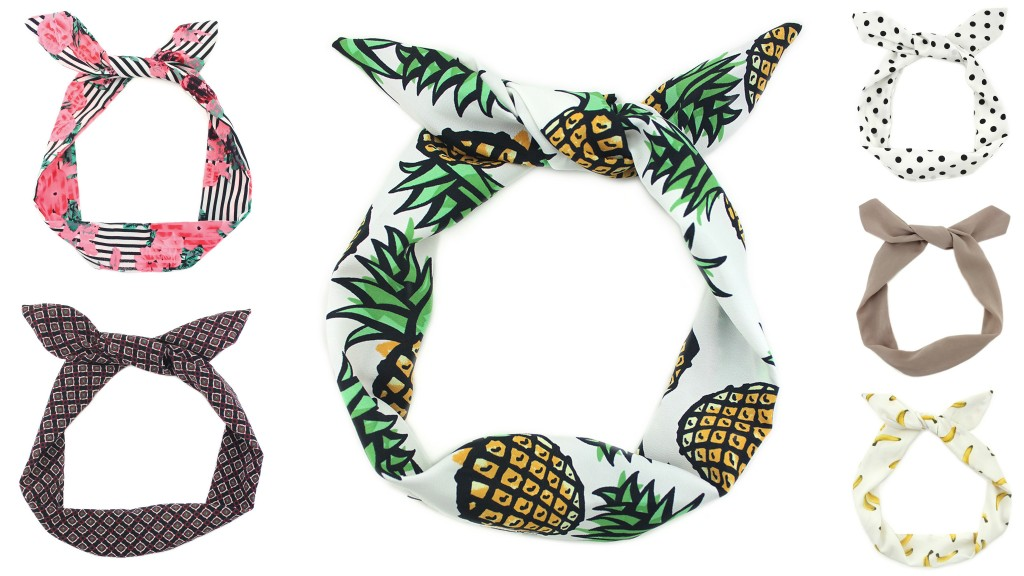 These Shop for Jayu headbands come in a wide variety of prints from simple to playful.