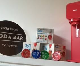 Have fun with your Sodastream Soda Bar