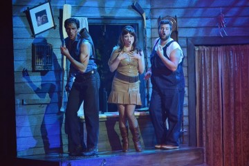 David Sajewich, Callie Johnson, Andrew di Rosa star in Evil Dead - The Musical