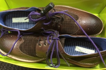 These Ted Baker London mens oxfords are