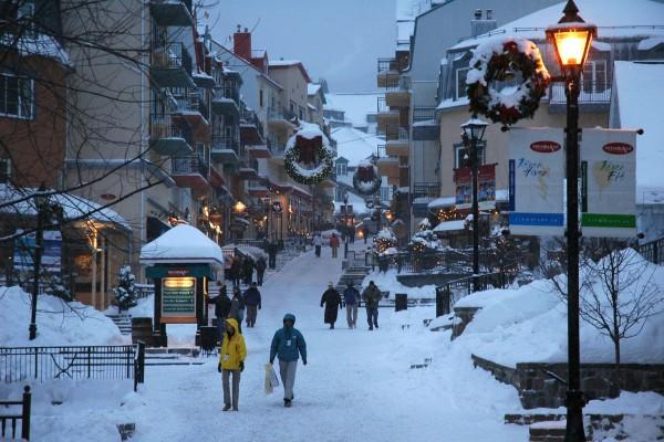 Mt. Tremblant Winter Travel