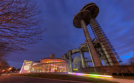 Queens Theatre, Flushing Meadows Corona Park. Titan Theatre