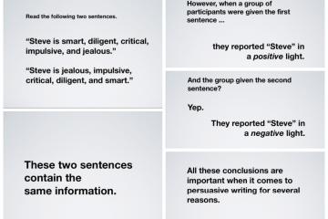 effective sentence writing