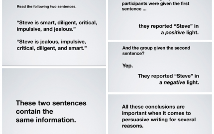 effective sentence writing