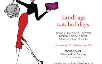 Jessica Jensen Holiday Pop Up Shop