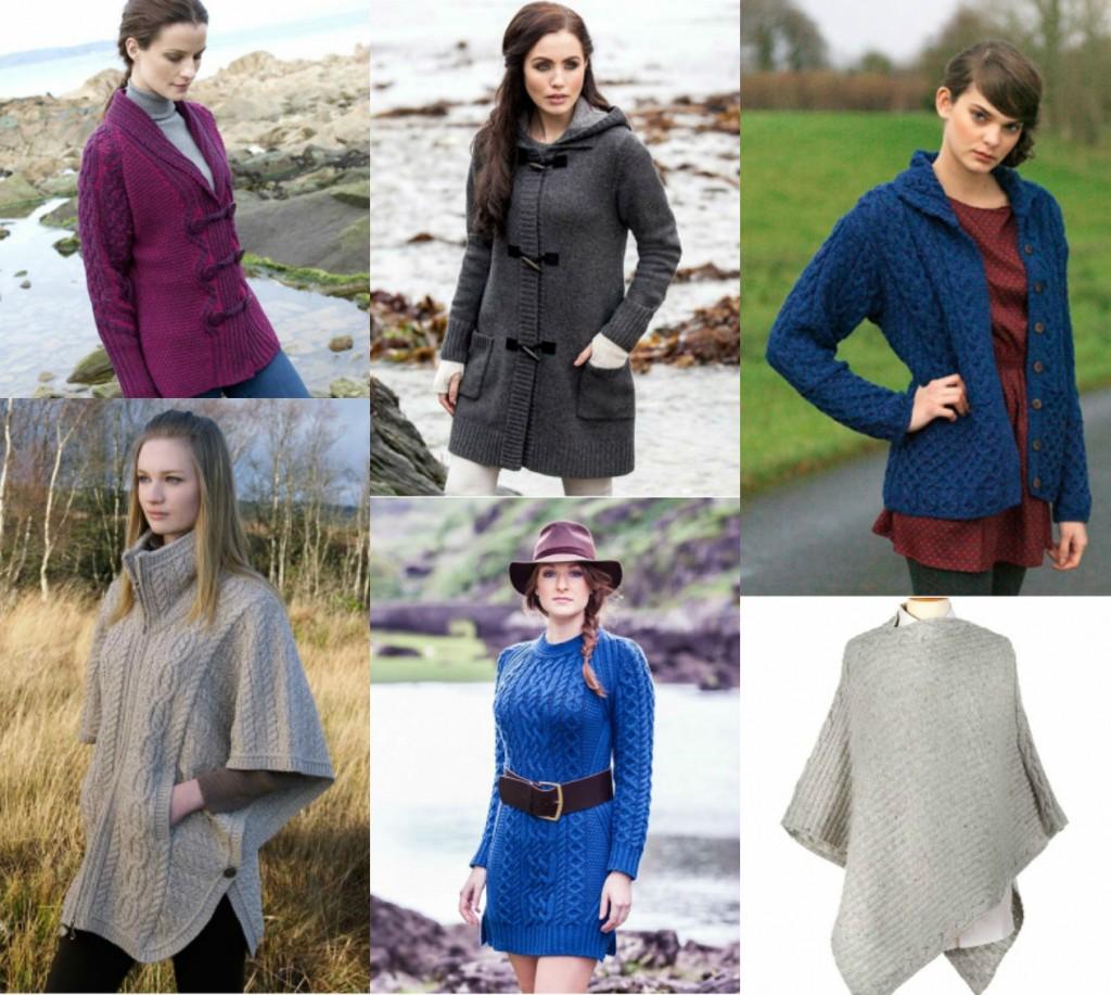Aran Womenswear. The Aran Sweater Market. Irish Wool.