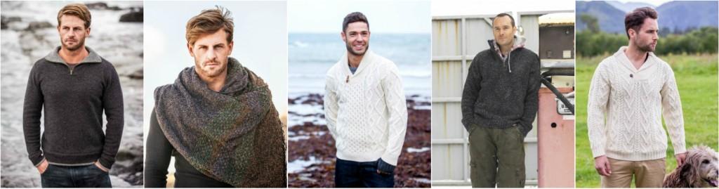 Aran Menswear. The Aran Sweater Market.