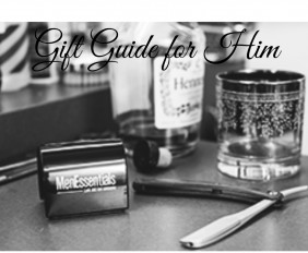 Gift Guide for Him. Feature Image c/o Men Essentials