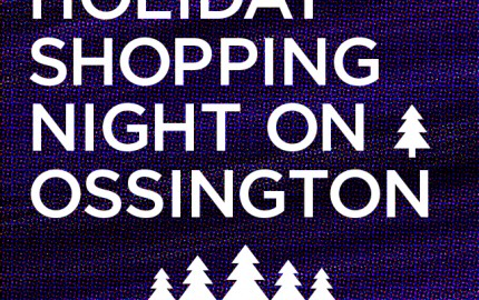Holiday Shopping Night on Ossington. Toronto Pop Up Shop