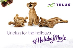 TELUS. Unplug for the Holidays.