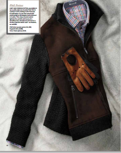 Holiday Gift Guide Men: Harry Rosen, Phil Petter Sweater Jacket