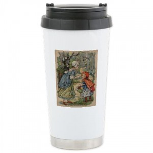 Holiday Gift Guide for Her: Little Red Riding Hood Travel Mug