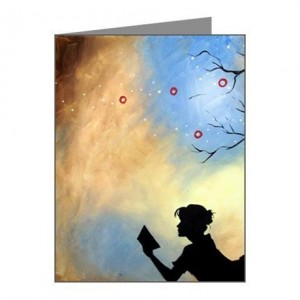 Holiday Gift Guide for Her: Literary Captivation Note Cards