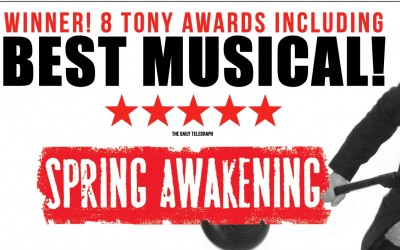 Spring Awakening at the Lower Ossington Theatre. Broadway Musical Spring Awakening. Theatre in Toronto.