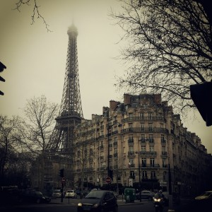 Paris, France with Eiffel Tower
