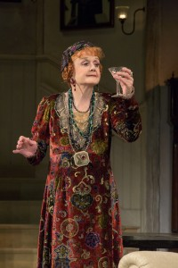 Angela Lansbury in Blithe Spirit. (Photo by Joan Marcus) The Scene inTO