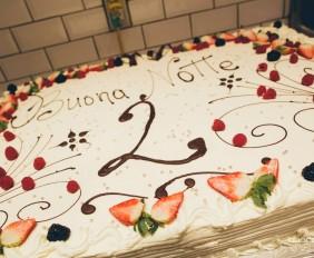 Buonanotte 2 year birthday cake