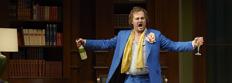 Russell Braun as Don Giovanni in the Canadian Opera Company production of Don Giovanni, 2015. Photo: Michael Cooper