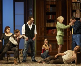 A scene from the Canadian Opera Company production of Don Giovanni, 2015. Photo: Michael Cooper