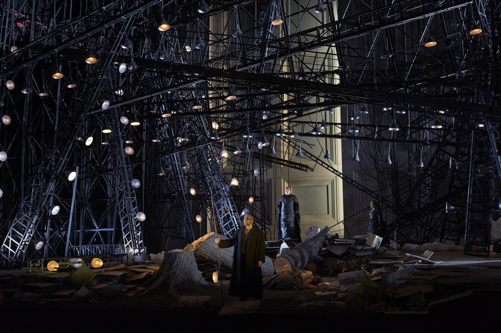 This Die Walküre production hits all the right notes in every department, including set design.