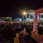 Long crowd shot, Jamaica Jazz and Blues Festival 2015. Photos: Reza Amirinia. The Scene inTO.