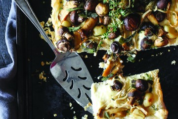 Recipe: Roasted mushroom tart