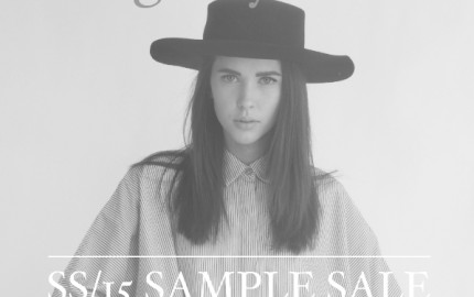 Agency 1 Sample Sale Toronto on Ossington.