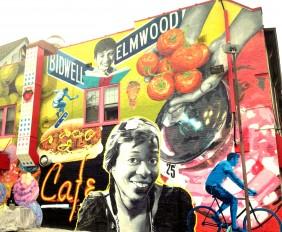 Buffalo Mural. Bidwell and Elmwood. Buffalo's Elmwood Village. TheSceneinTO