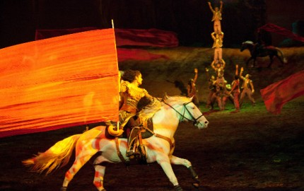 Cavalia Odysseo: Larger than Life. The Tribe 3 / Tribu 3 | Credits: François Bergeron