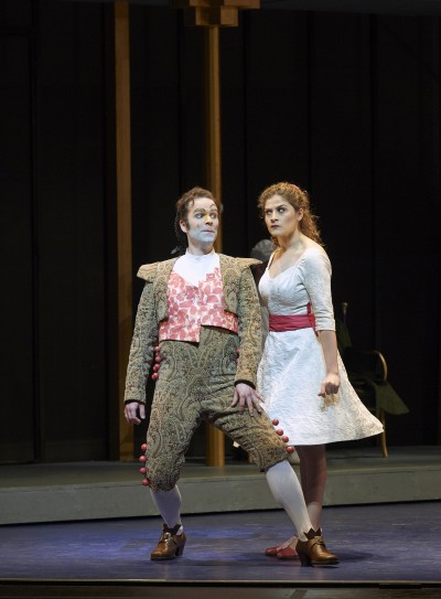 Joshua Hopkins as Figaro and Serena Malfi as Rosina in the Canadian Opera Company production of The Barber of Seville, 2015. Conductor Rory Macdonald, director Joan Font, set and costume designer Joan Guillén, choreographer Xevi Dorca and lighting designer Albert Faura. Photo: Michael Cooper Office- 416-466-4474 Mobile- 416-938-7558 66 Coleridge Ave. Toronto, ON M4C 4H5